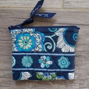 Vera Bradley | Small Blue Pouch